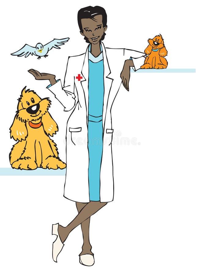 De veterinaire reeks van de baan - vector illustratie
