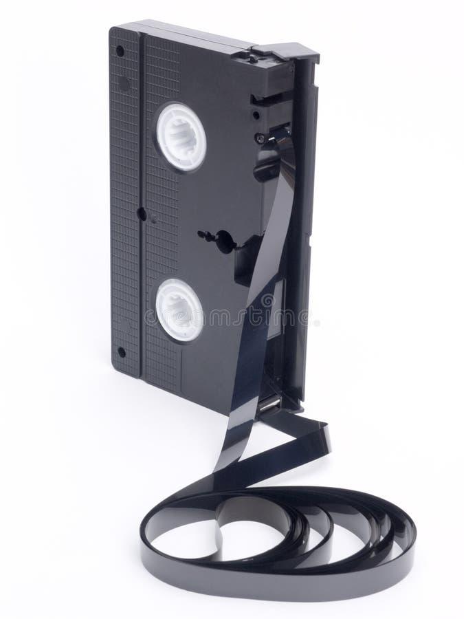 De video Band van de Cassette stock foto's
