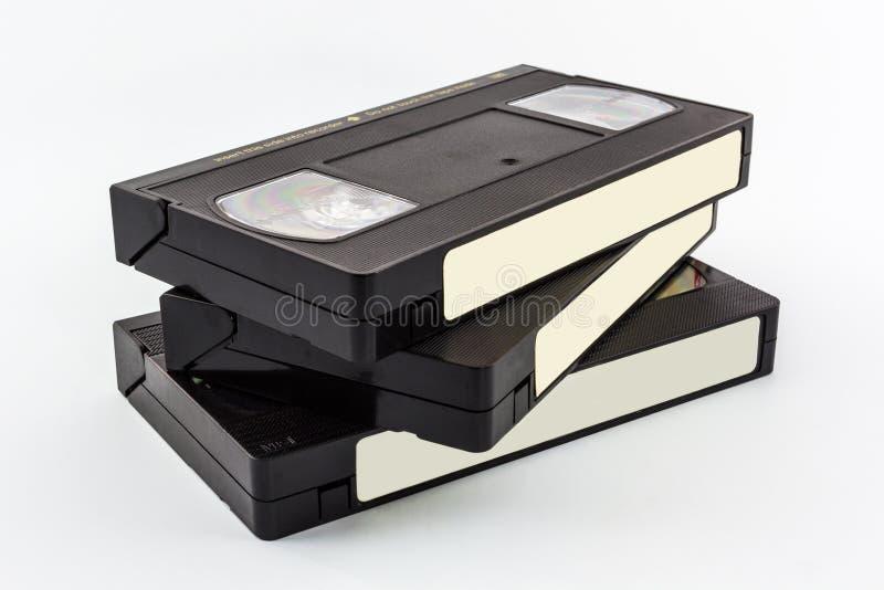 De videocassette van VHS. royalty-vrije stock afbeelding