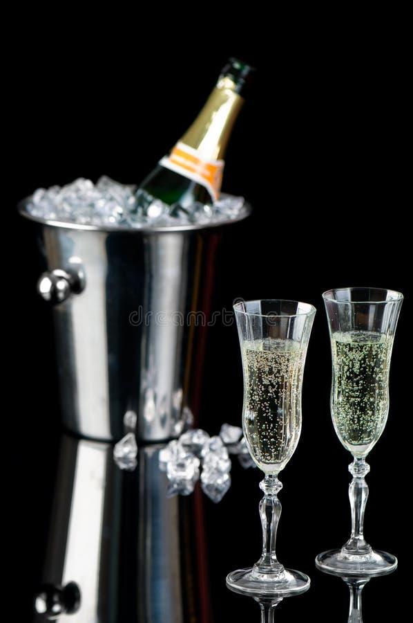 De Viering van Champagne royalty-vrije stock foto