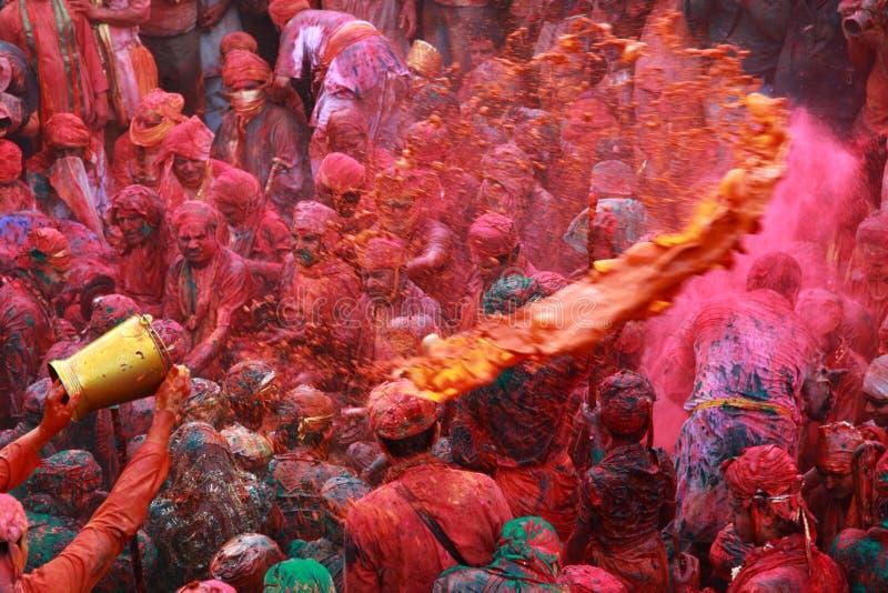 De Viering van Holi royalty-vrije stock afbeelding