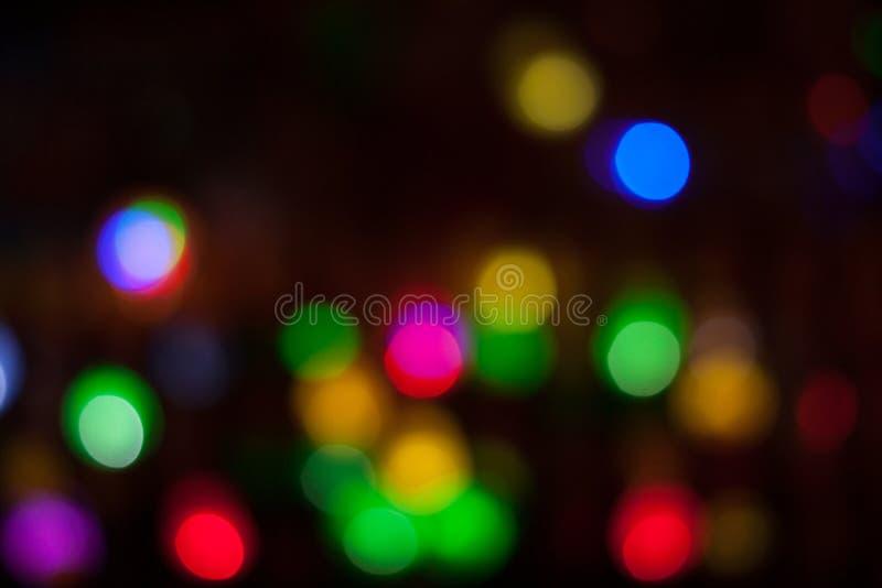 De Viering van de nachtscène stock fotografie