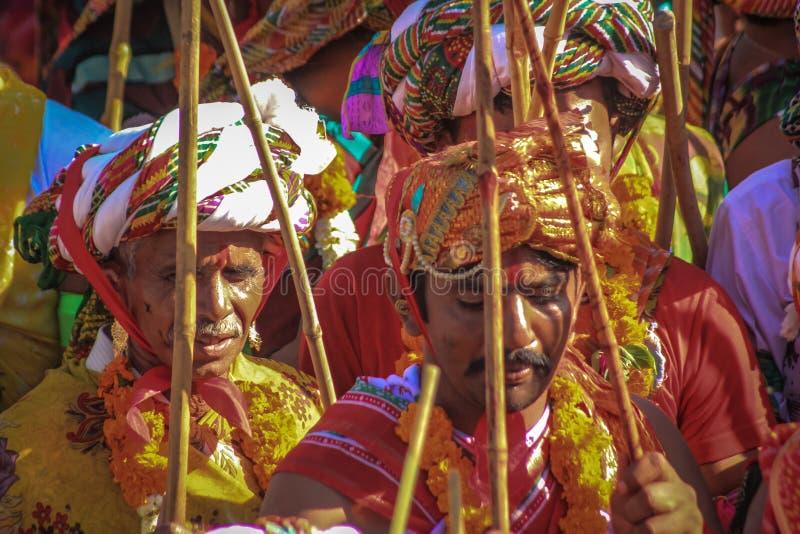 De Viering van Rajasthan Holi royalty-vrije stock afbeelding