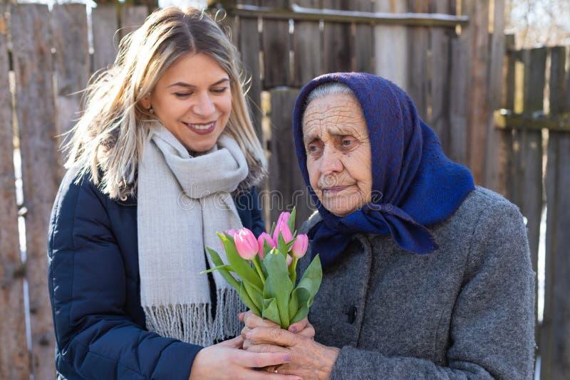 De viering van de vrouwen` s Dag stock foto