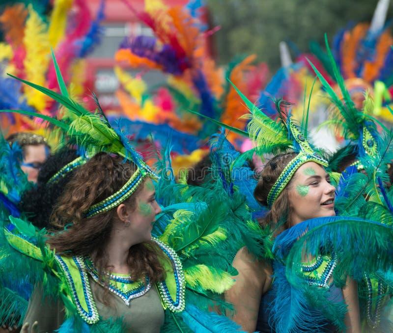 De Vieringen van Carnaval van de Nottingsheuvel royalty-vrije stock afbeelding
