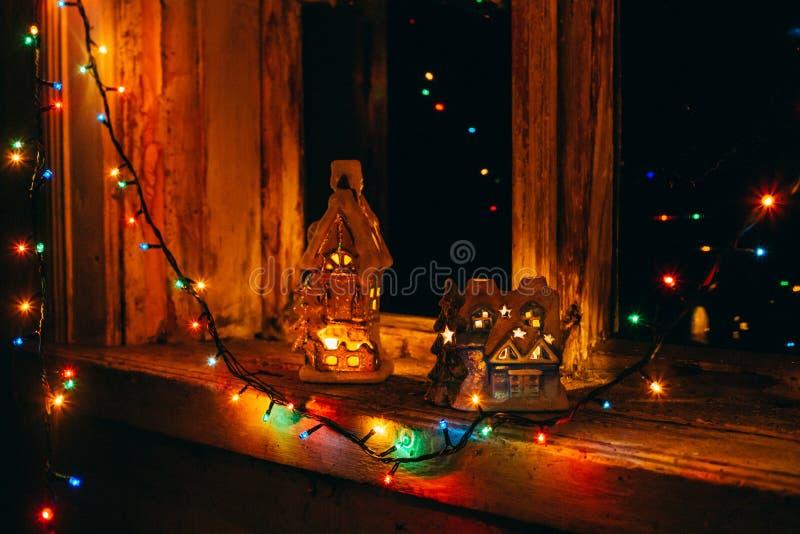 De vieringslichten stock afbeeldingen