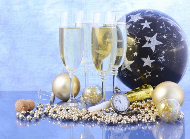 De vieringspartij van het nieuwjaar royalty-vrije stock foto's