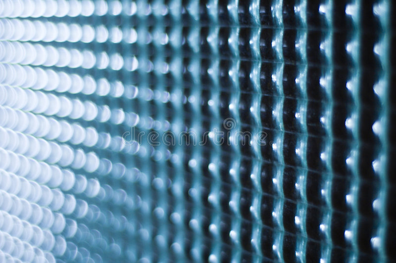 De vierkante textuur van het glas royalty-vrije stock foto