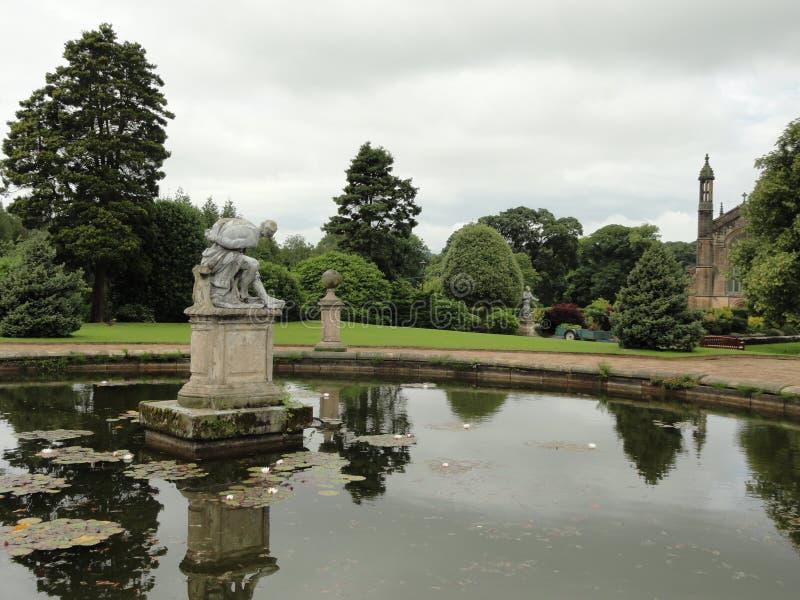 De vijver van Engeland royalty-vrije stock afbeelding