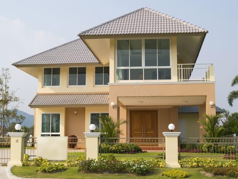 De villa van de luxe stock foto