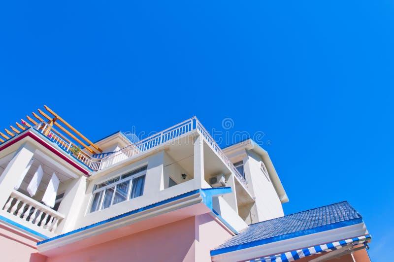 De villa van de vakantie stock foto