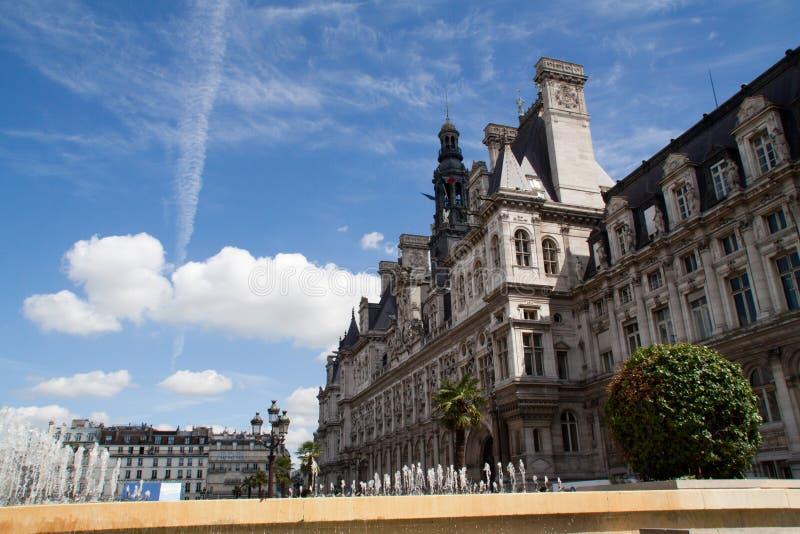 de ville Hotel Paris fotografia stock