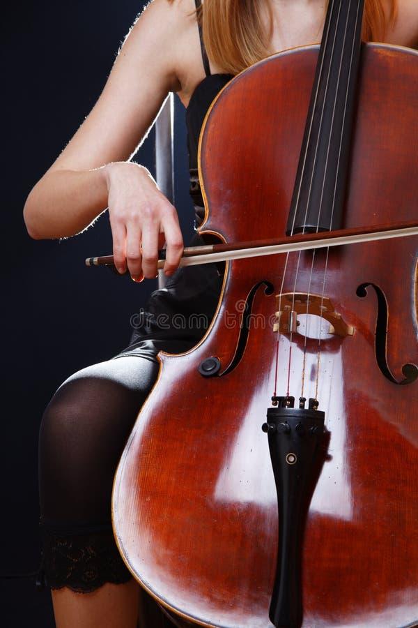 De Violoncel van de viool royalty-vrije stock fotografie