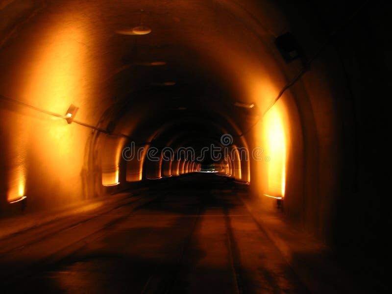 De Visie van de tunnel stock foto's