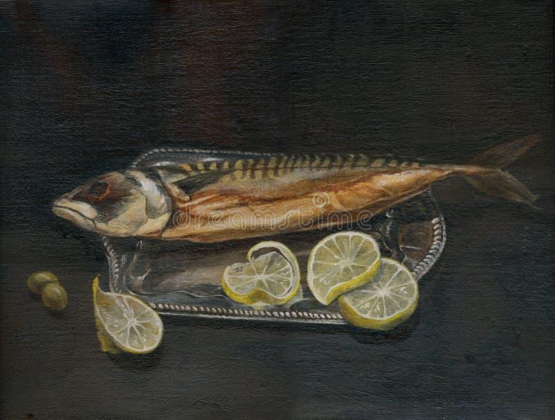 De vissen - makreel royalty-vrije stock foto's
