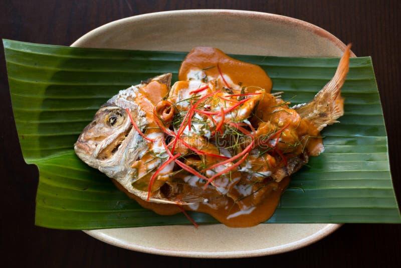 De vissen van Choochee Thais voedsel - beweeg gebraden gerecht #6 stock afbeeldingen