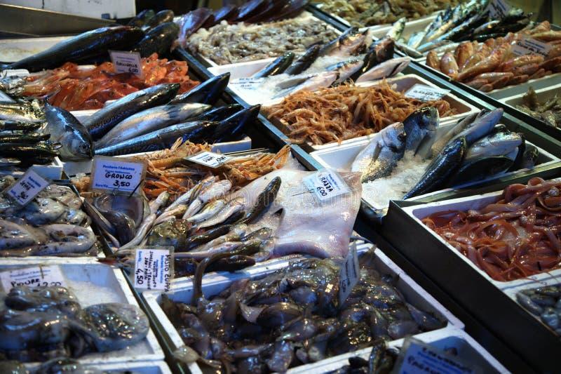 De vissen van de markt royalty-vrije stock foto