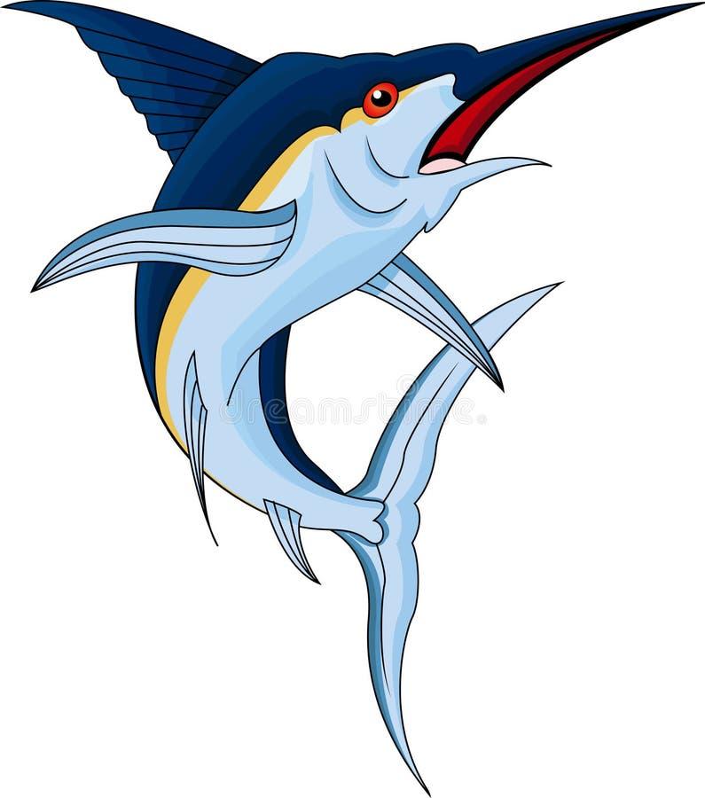 De vissen van de marlijn stock illustratie