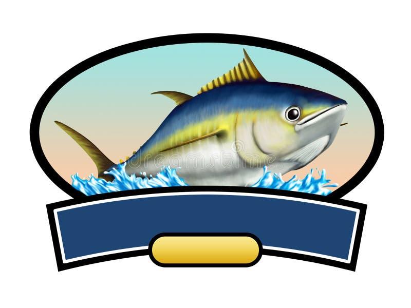 De vissen van de tonijn stock illustratie