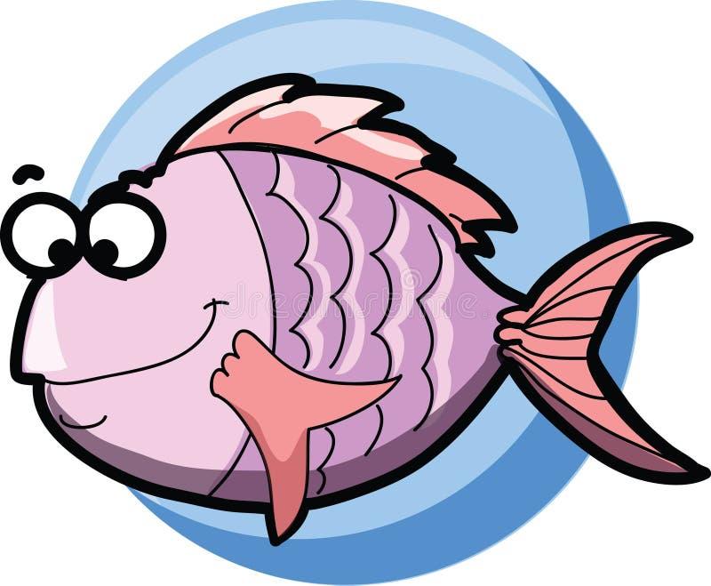De Vissen van het beeldverhaal royalty-vrije illustratie