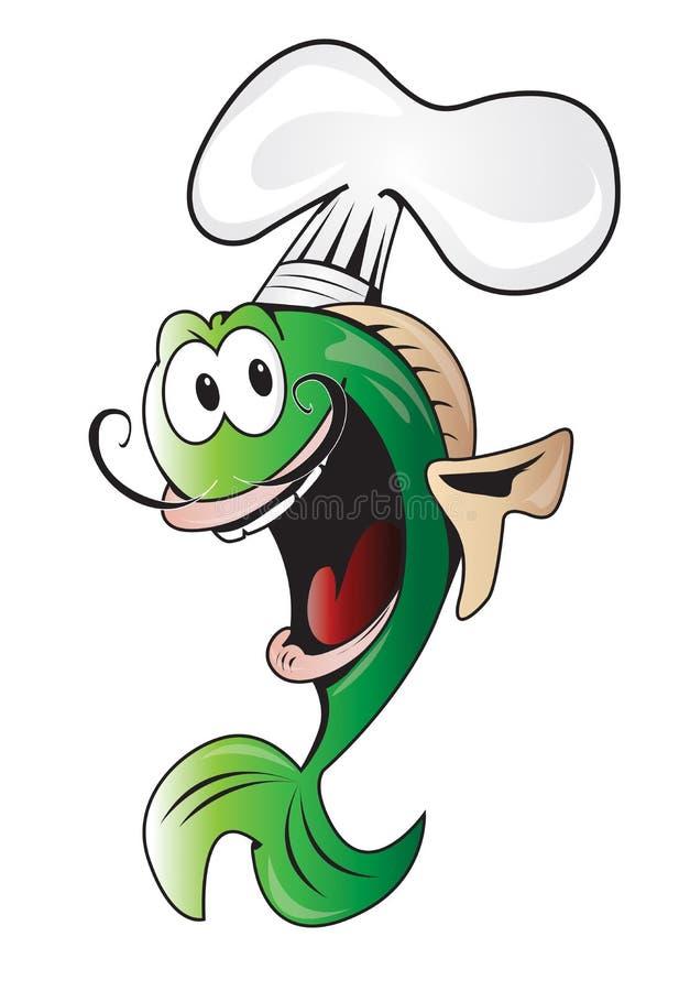 De vissen van het kooktoestel stock fotografie