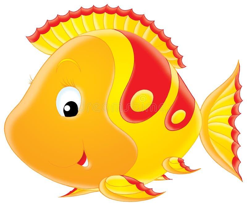 De vissen van het koraal stock illustratie