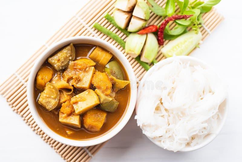 De vissenorganen verzuren soep, Zuidelijk Thais voedsel stock fotografie