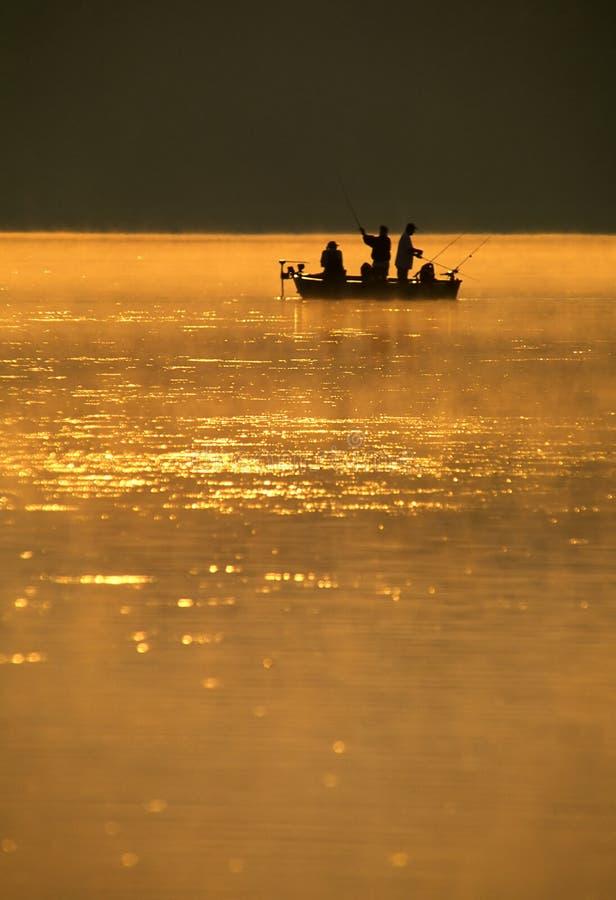 De Visserij van vissers royalty-vrije stock afbeelding