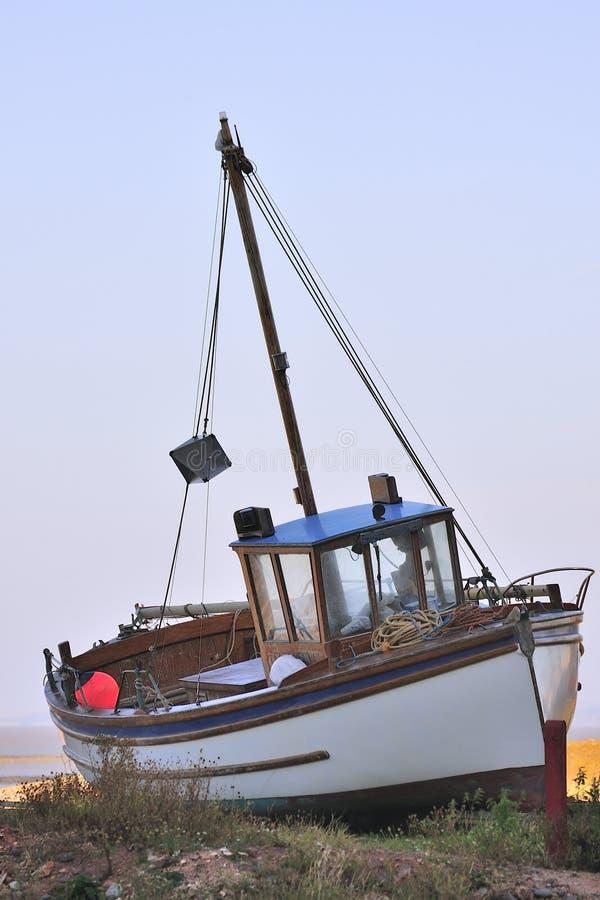 De vissersboot van de charter, Somerset royalty-vrije stock foto's
