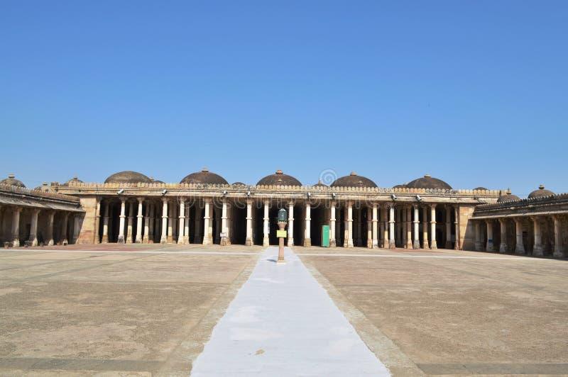 De vista completa de Sarkhej Roza, Ahmedabad imagens de stock