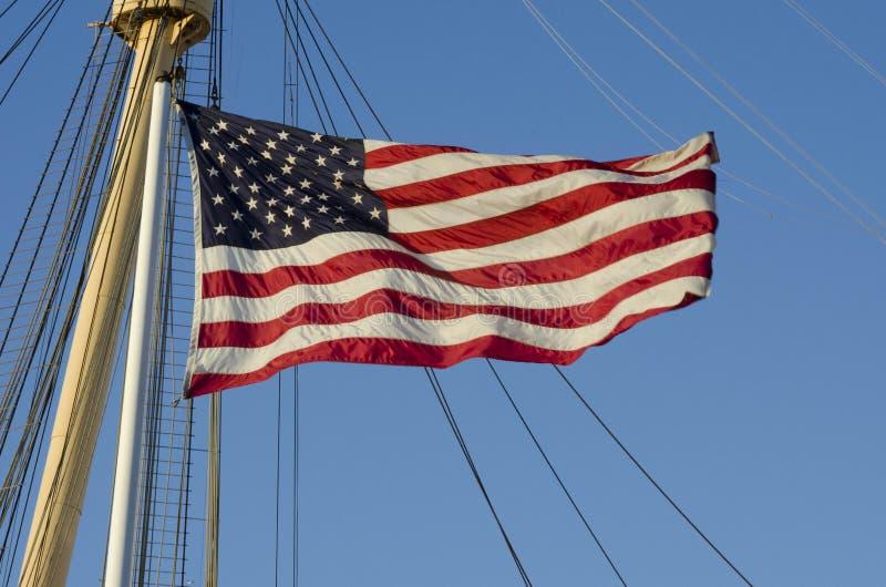 De Vlag van de V.S. royalty-vrije stock afbeeldingen