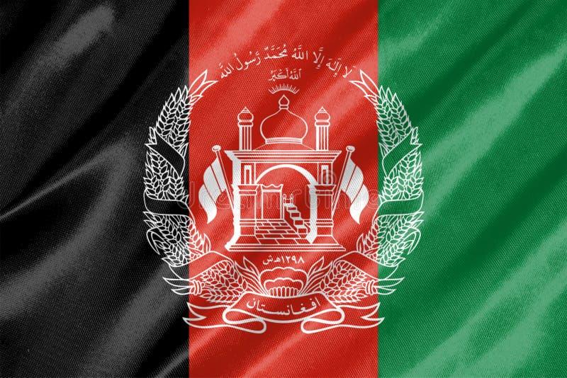 De vlag van Afghanistan vector illustratie