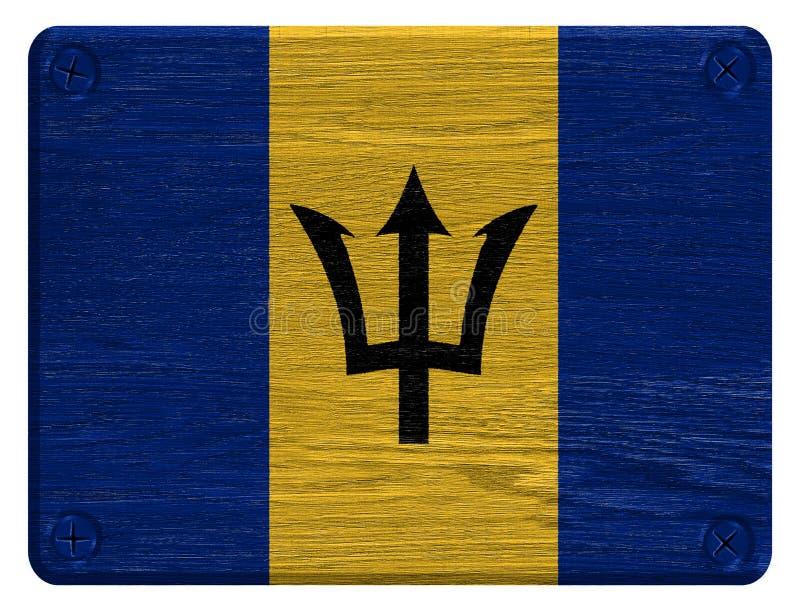 De Vlag van Barbados stock foto