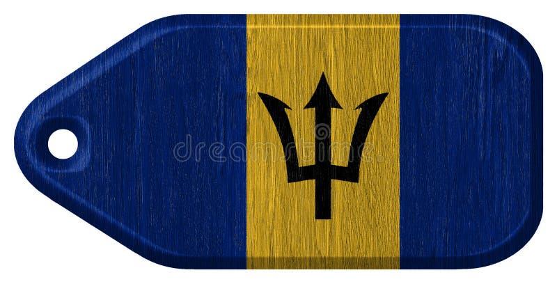 De Vlag van Barbados royalty-vrije stock fotografie