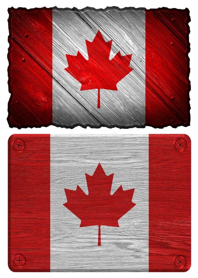 De Vlag van Canada vector illustratie