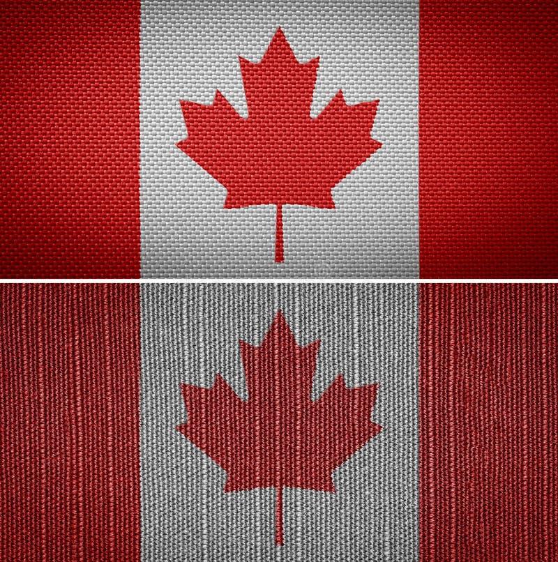 De Vlag van Canada royalty-vrije stock afbeeldingen