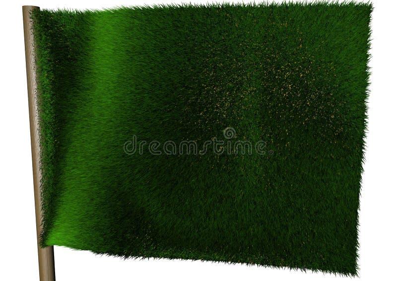 De Vlag van de ecologie vector illustratie