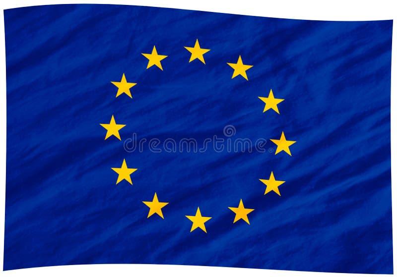 De vlag van de EU vector illustratie
