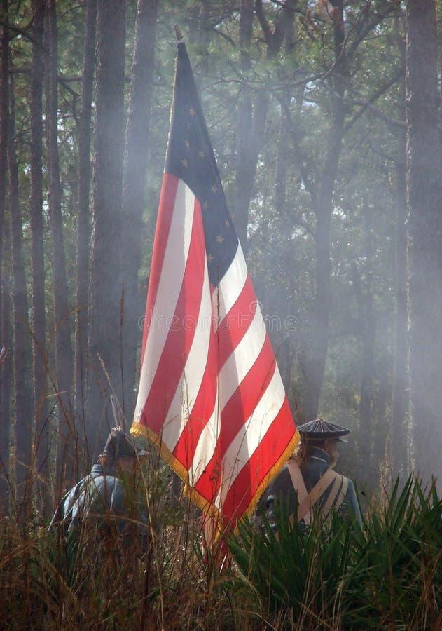 De Vlag van de slag stock afbeeldingen