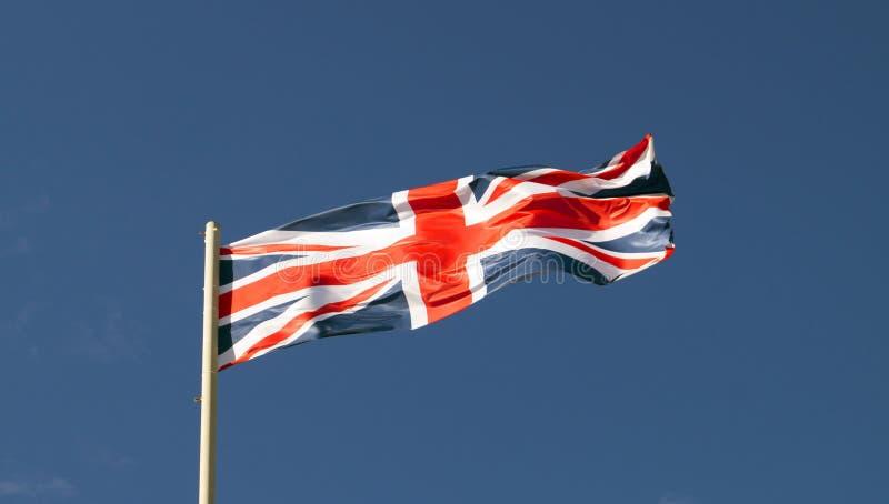 De vlag van de staat Groot-Brittannië, Engeland, het UK stock foto's