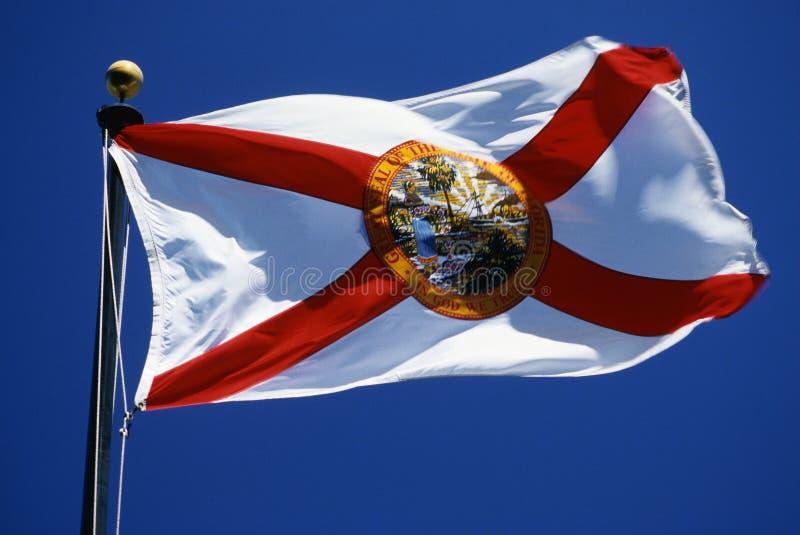 De Vlag van de Staat van Florida stock fotografie