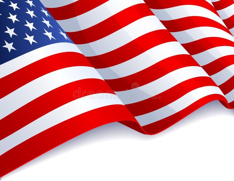 Download De vlag van de V.S. vector illustratie. Afbeelding bestaande uit ster - 14008710