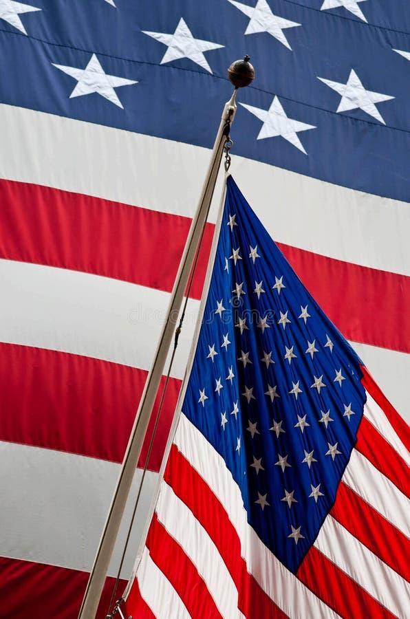De vlag van de Verenigde Staten van Amerika royalty-vrije stock fotografie