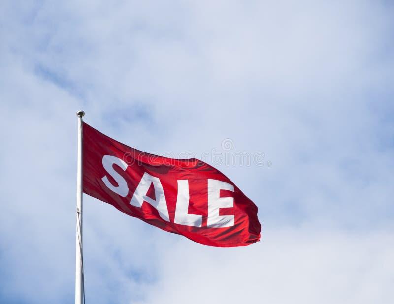 De vlag van de verkoop royalty-vrije stock foto