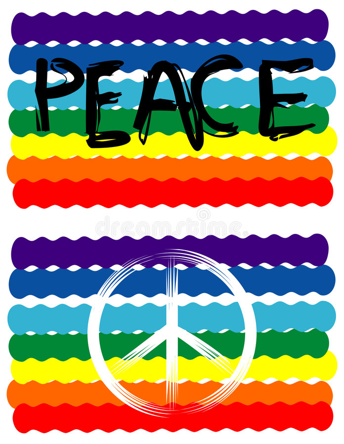 De Vlag van de vrede, het Teken van de Vrede