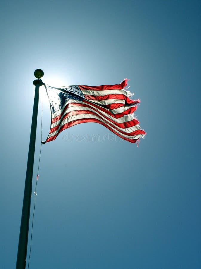 Vrijheidsvlag Stock Foto's