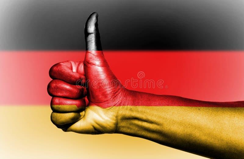 De Vlag van Duitsland stock afbeeldingen