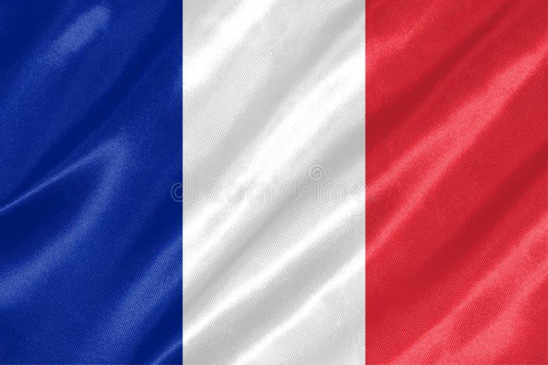 De Vlag van Frankrijk royalty-vrije illustratie