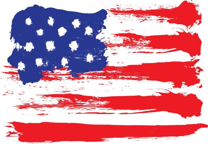 De vlag van Grunge