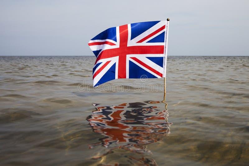 De vlag van het Verenigd Koninkrijk stock afbeelding